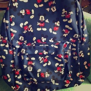 NWT Mickey Mouse backpack